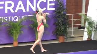 ТЕХНИЧЕСКОЕ СОЛО Varvara SUBBOTINA (RUS) technical solo - 2018 French Open Mont