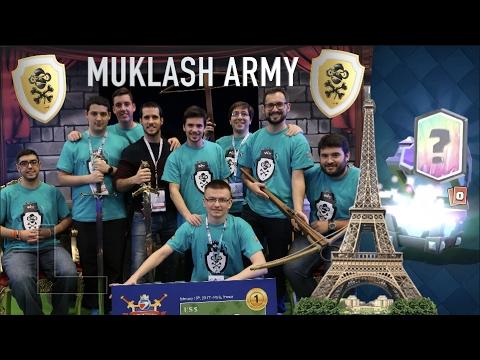 LEGENDARIA EN PARIS - PRESENTACION DE MI EQUIPO COMPETITIVO: MUKLASH ARMY