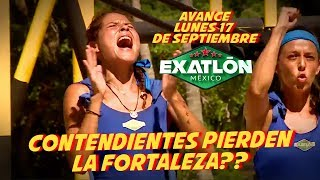 La fortaleza se Pinta de Rojo | Avance 17 de septiembre EXATLON