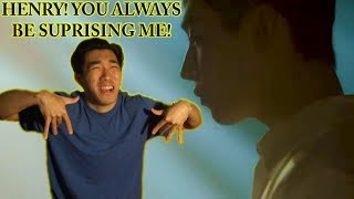 How I Got Serenaded By Henry Lau - [Reaction] (헨리)  HENRY 'I LUV U' [MV]