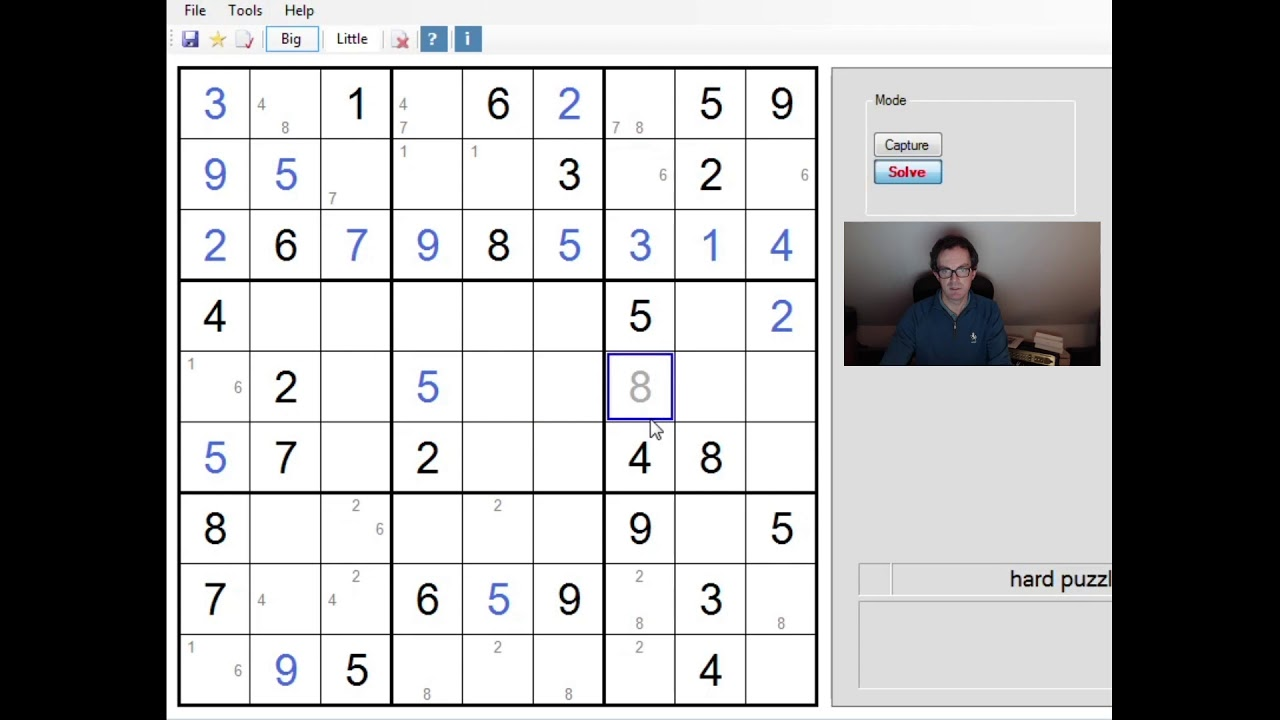 our hardest sudoku and