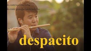 Despacito  - Vietnamese bamboo flute   Master of flute