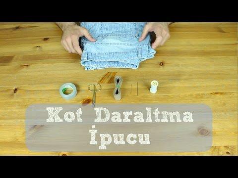 Kot Daraltma - Kolay Pantolon Daraltma - Zoraki İpuçları