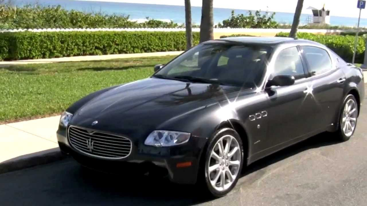 2008 maserati quattroporte granite gray a2761 youtube. Black Bedroom Furniture Sets. Home Design Ideas