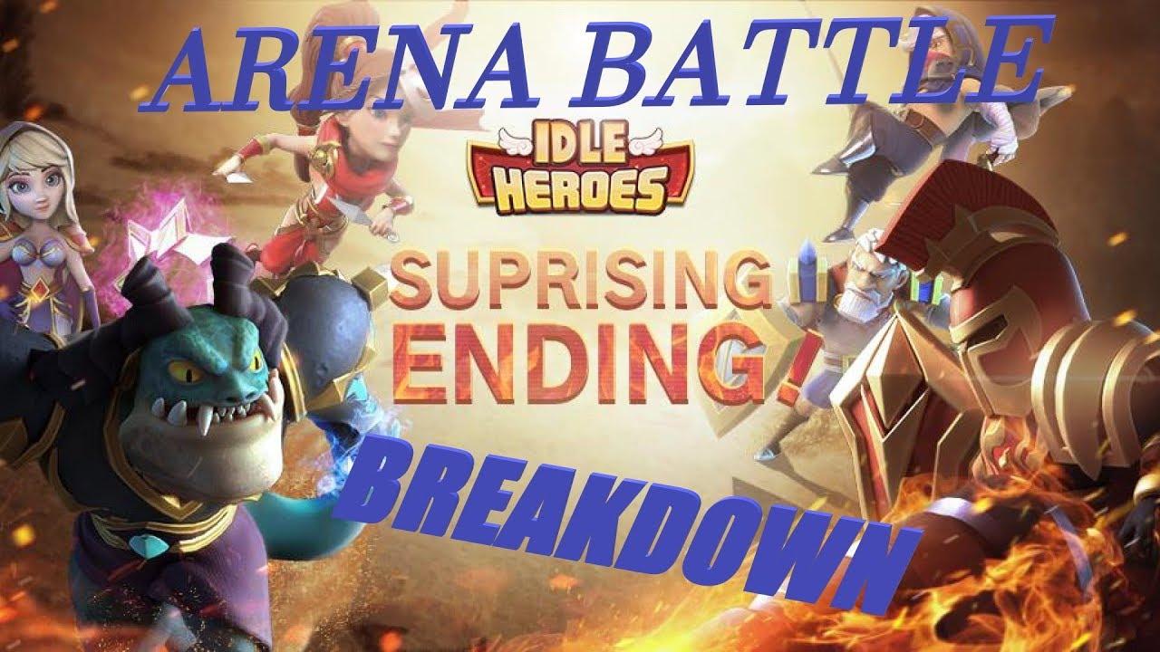 Idle Heroes: ARENA BATTLE BREAKDOWN - EmParallax