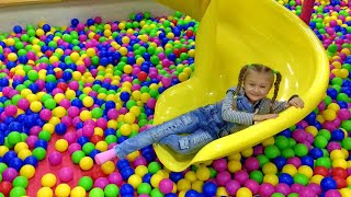 Yasya at the Children's entertainment centre | Playground Video for Kids