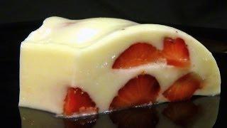 Желе  молочно-сливочное с ягодами