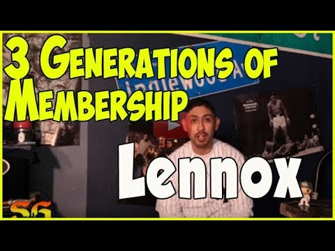 He wants 3 generations of Lennox gang membership to end with him