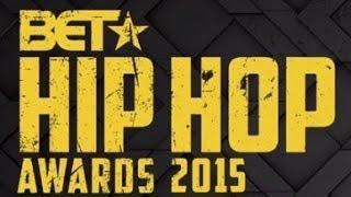 stephen hill on the bet hip hop awards 2015 green carpet
