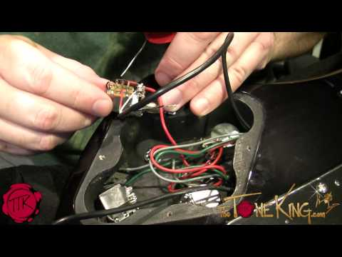 HOW TO INSTALL A GUITAR PICKUP  (upgrade, rewire, solder & r
