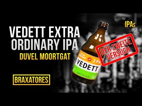 Vedett IPA  duvel moortgat  India Pale Ale Craft Beer Review