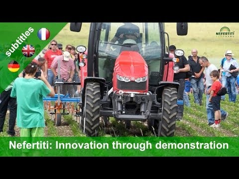 Nefertiti: Networking European farms to  enhance innovation through demonstration