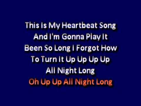 Kelly Clarkson   Heartbeat Songs (lyrics)