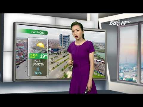VTC14 | Thời tiết các thành phố lớn 16/10/2017 | Hà Nội trở lạnh, Đà Nẵng và TP HCM có mưa to