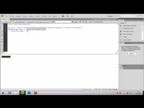 Html javascript creare una finestra pop up youtube - Creare finestra popup ...