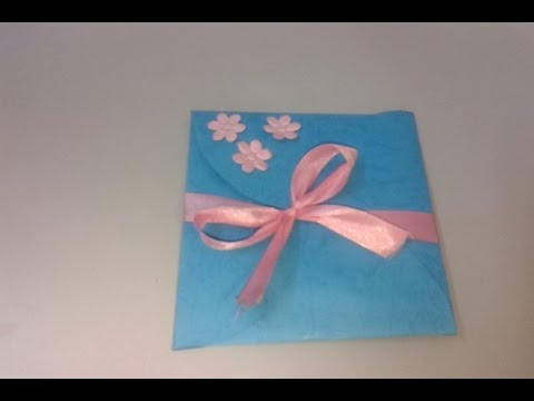 How To Make A Simple Origami Card Birthday And Mothers Day