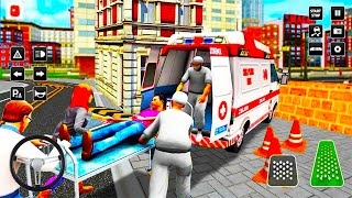 City Ambulance Rescue Driver - 911 Emergency Helicopter Rescue - Android Gameplay
