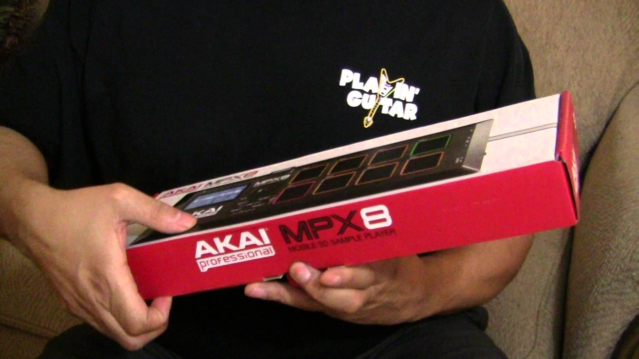 For Sale Akai Professional MPX8 SD Sample Pad Controller Brand New ...
