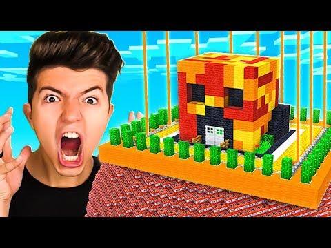 NEVER Break into Preston's IMPOSSIBLE Minecraft House!