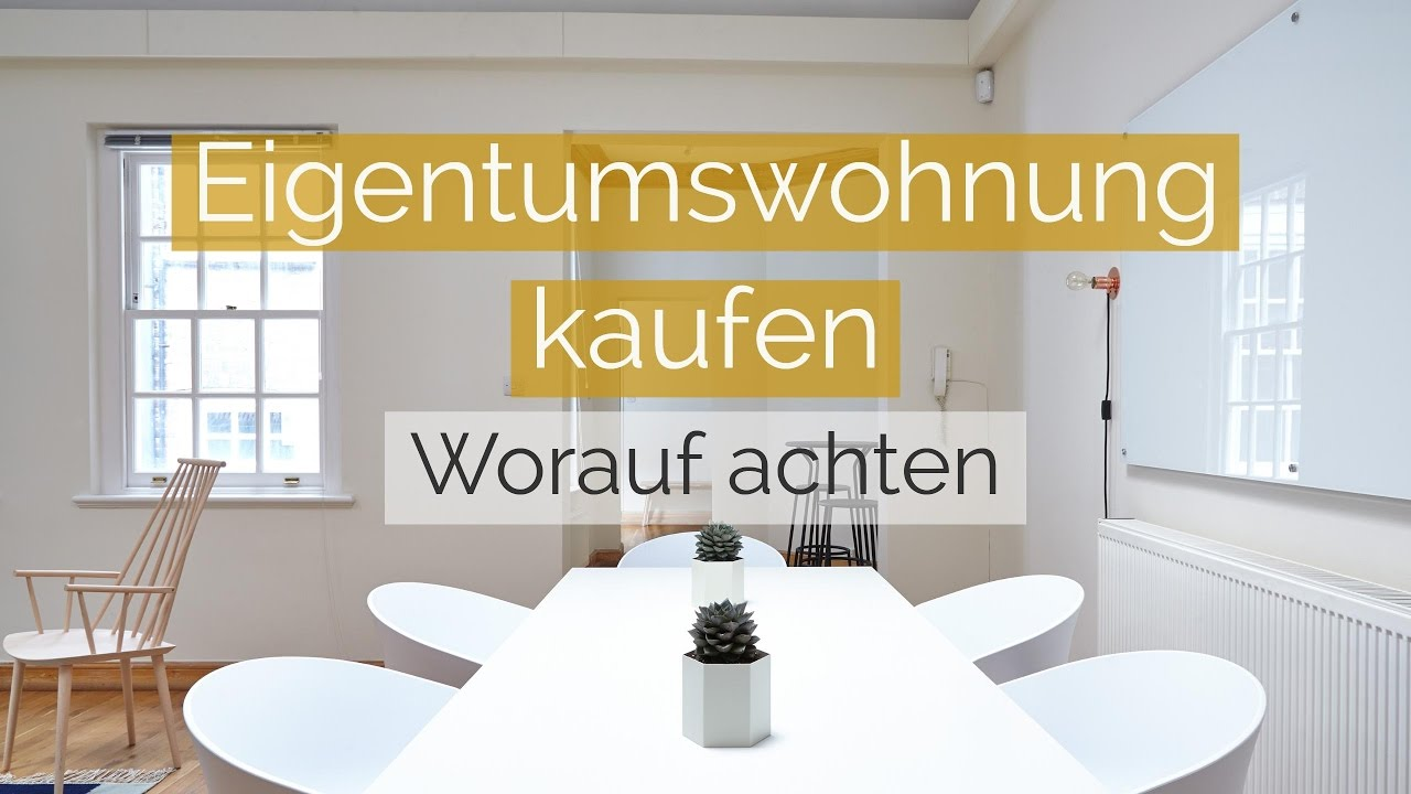 kauf eigentumswohnung f r einsteiger mit praktischen beispielen youtube. Black Bedroom Furniture Sets. Home Design Ideas