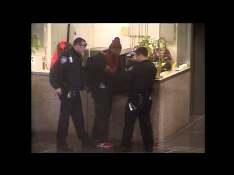 Port Authority Police Disarm Suspect Trying To Show Them A Gun