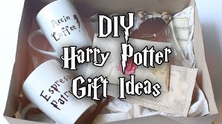 HOW TO MAKE HARRY POTTER INSPIRED GIFTS ⚡ HOGWARTS LETTER   WAND   POTIONS   MUGS