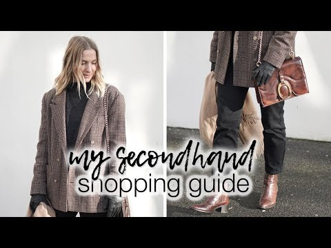 How to look amazing in 2ndhand clothes & how to find the best things!