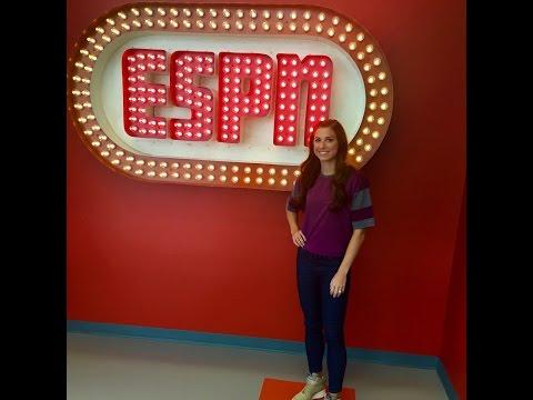 USWNT - Alex Morgan - Behind the Scenes ESPN Visit - October 2015