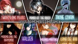 Nightcore MEGAMIX House Of Memories Switching Vocals Megamix