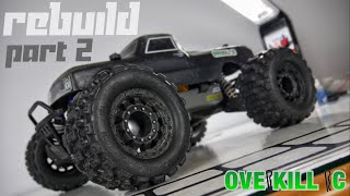 BETTER THAN EVER. | 4s LiPo Traxxas Stampede 4x4 2019 REBUILD | Part 2 | Overkill RC