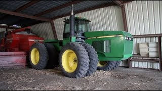 Old Start Cold Start John Deere 8960 Tractor