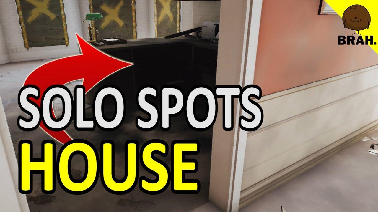 Solo Hiding Spots That Work On House Rainbow Six Sieg