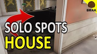SOLO Hiding Spots That WORK on House - Rainbow Six Siege Operation Health
