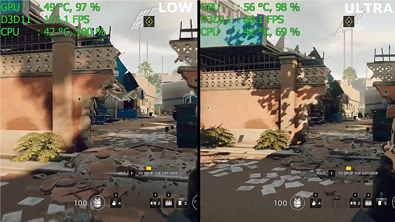 how to uninstall hd texture pack rainbow six siege
