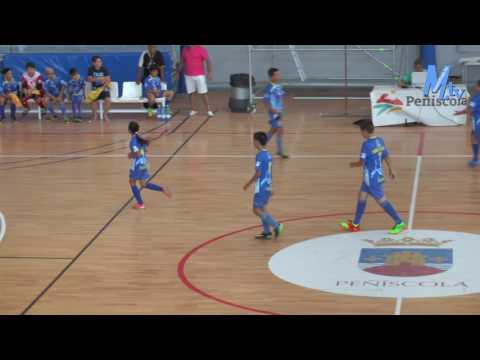 Alevín - Grupo A J01 - Peñíscola FS vs Santiago Futsal B