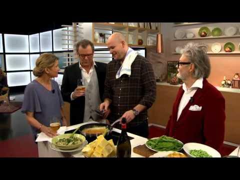 Johan Jureskog lagar wienerschnitzel och chokladmousse - Nyhetsmorgon (TV4)