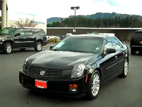 Sold 2007 Cadillac Cts Luxury Sport V1692 Youtube