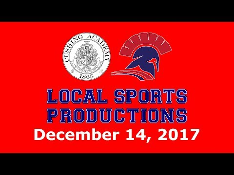 NEPSAC Boys' Hockey on LSP - Cushing Penguins @ Lawrence Academy Spartans, 12.14.2017