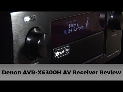 Denon AVR-X6300 11.2 AV Receiver with Dolby Atmos Review