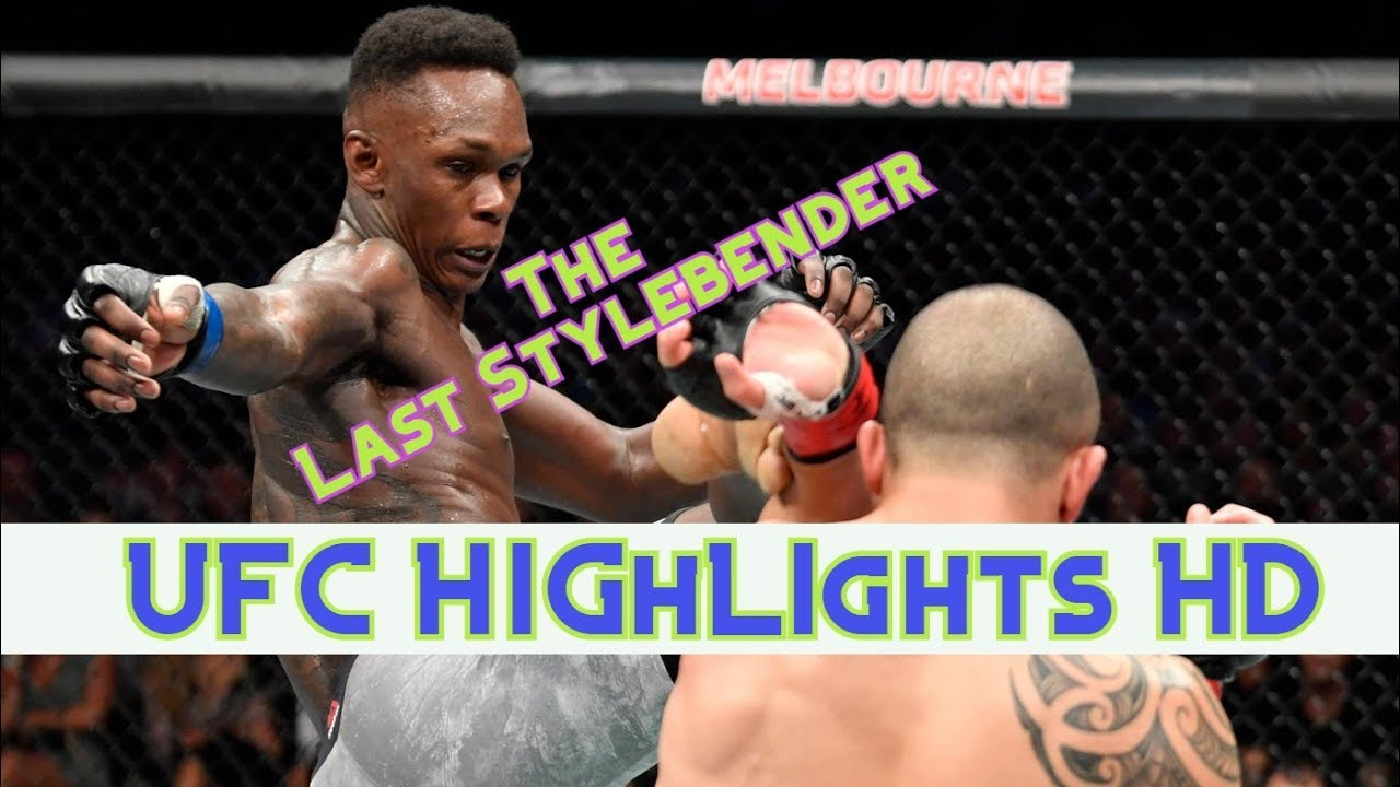 Israel Adesanya The Last Stylebender Highlights UFC
