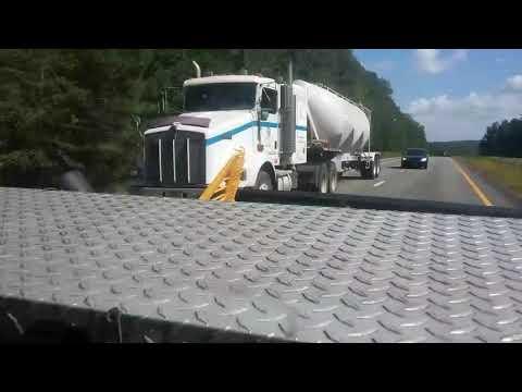 Southern Tank Leasing Kenworth T800 tanker truck