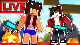Minecraft with VIEWERS! 🔴 thumbnail