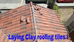 Roofing Tiles : laying clay tiles . Beautiful Tiles,Awesome tiles!