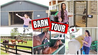 FOALING FARM TOUR!!! | Equine Foaling And Repro Vet Facility Tour