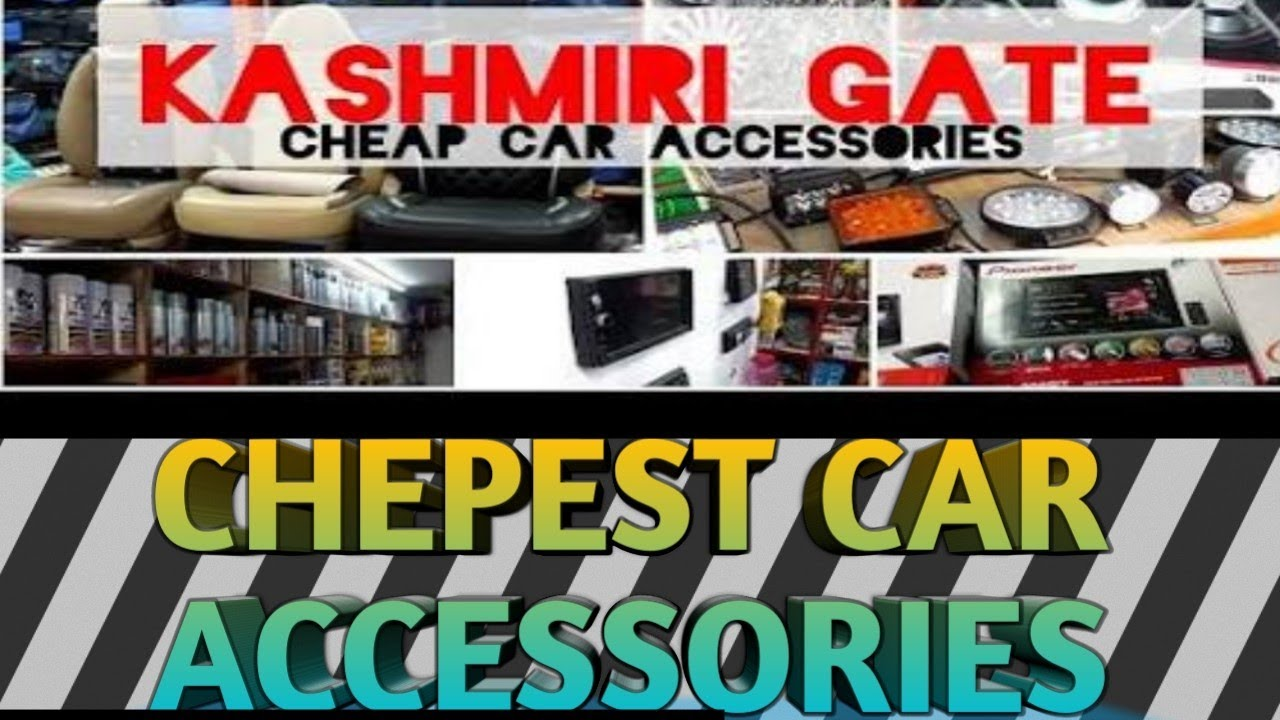 Cheapest Horn In Kashmere Gate Accessories Market Of Bike Car