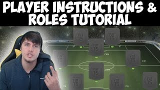 FIFA 15 Player Instructions Tutorial | How to Change Player Instructions & Roles | Best FIFA Guide