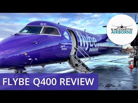 FLIGHT REVIEW | Flybe | Q400 | Edinburgh To Birmingham
