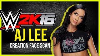 WWE 2K16  AJ Lee