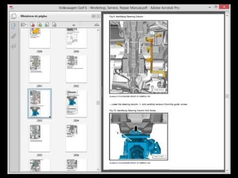 volskwagen golf 6 service manual wiring diagram youtube. Black Bedroom Furniture Sets. Home Design Ideas