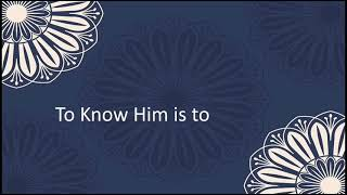 To Know Him is to Love Him: Episode 5 - Al-Ghaniyy